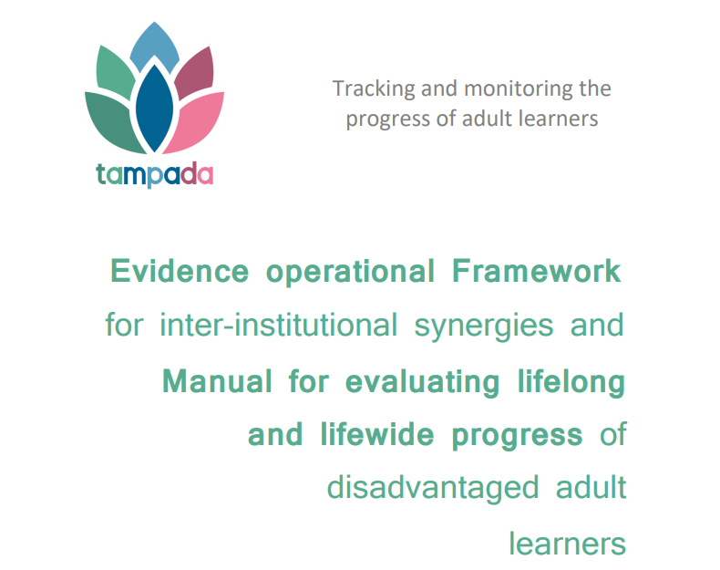 Newly published: Framework and Manual for evaluating lifelong and lifewide progress of disadvantaged adult learners